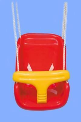 Altalena 3-in-1 per i bambini anticaduta completa di corde prezzo +basso