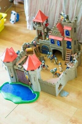 Playmobil Large Castle with Lion Knights, King and Queen and Cannon