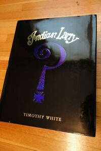 Indian Larry Book, Rare, Large Format Hardcover
