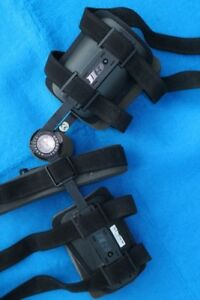 Knee brace left or right Ossur Rehab with extension / Flexion He