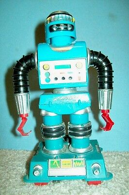 1968 Ideal Zerak Toy Robot - Missing Parts, Not Working