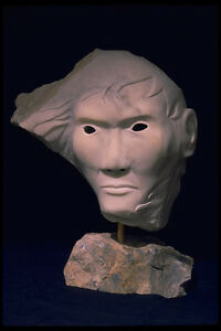 INUIT CONFRONTATIONAL MASK CARVING
