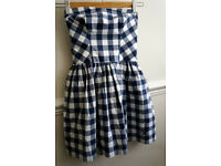 Checked Gilly Hicks dress (XS)