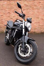 Yamaha FZ6 Fazer. 2010. Full MOT. 14700 miles. Excellent condition. Black.