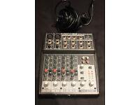 Behringer Xenyx 802 (small mixer)