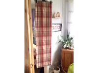 2 pairs thermal lined curtains