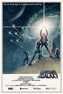 Guardians Of The Galaxy Star Wars (POSTER I GUARDIANI DELLA GALASSIA GUARDIANS OF THE GALAXY STAR WARS LORD GROOT)