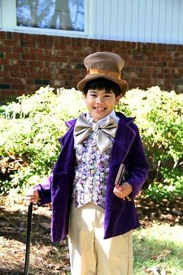 Willy Wonka Children's Costume Gene Wilder