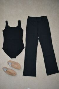 Girl's Size 12 - 14 DANCE Bodysuits and Jazz Pants LIKE NEW