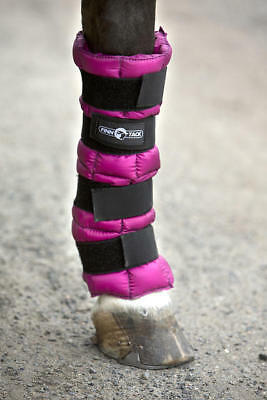 Horze Blue Pro Cooling Leg Wrap Horse Therapy Therapeutic Ice Cell Boot Swelling