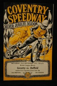 SPEEDWAY - Coventry Bees vs Sheffield 23 Sep 1972