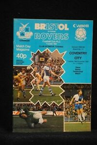 PROGRAMME-TEST-STEVE-BAILEY-Bristol-Rovers-vs-Coventry-City-15-Nov-1983
