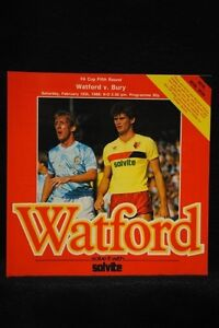 PROGRAMME-FA-5th-Watford-vs-Bury-15-Feb-1986