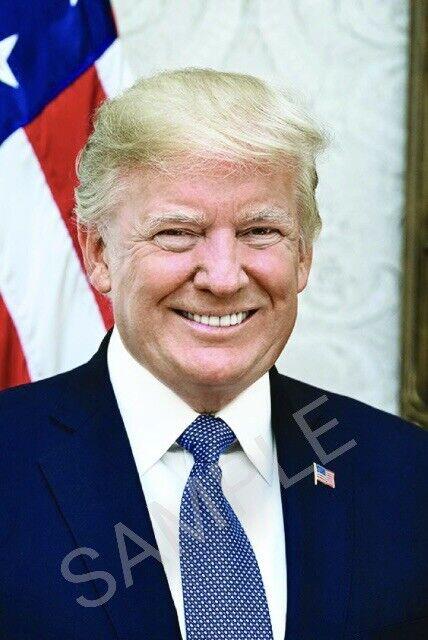 President Donald Trump 4x6 Inch Photo (All 18+) MTA849