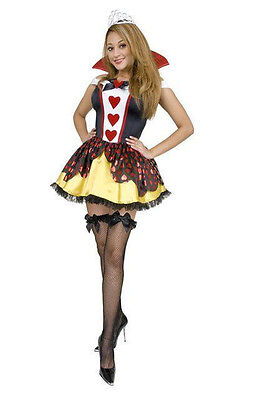 Queen of Hearts Alice in Wonderland Fancy Dress - Queen Of Hearts Dress Up Kostüm
