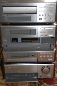 Denon Compact Stereo System D-200, incl. ADS L440e Speakers Peterborough Peterborough Area image 2