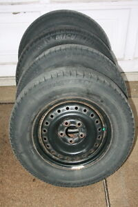 Set of 4 Michelin Snow Tire and Rims $400.00