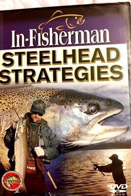 Brand New DVD ~ ~ In-Fisherman ~ ~ Steelhead Strategies ~ ~ DVD ~ ~ NEW