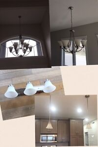 8 matching lights for a home