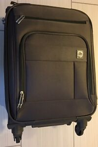 "DELSEY 21"" 4 WHEEL SPINNER CARRY ON Luggage"