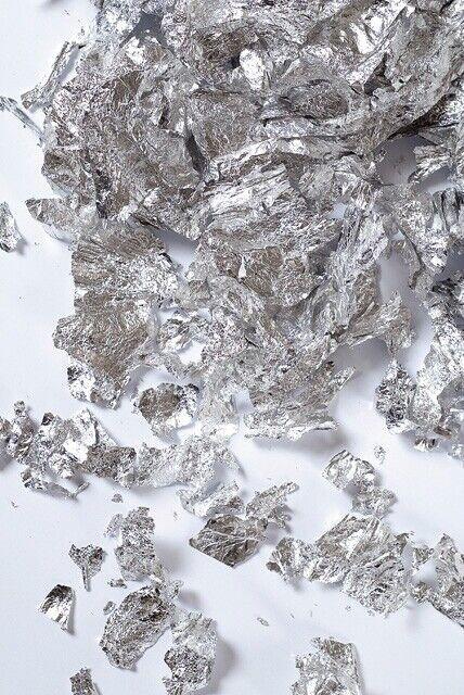 Flakes Deco Metal Silver 0.0353oz - Deco Métal
