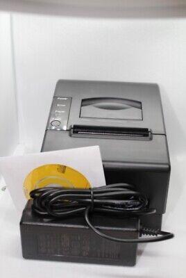 New Thermal Receipt Printer Usb Port Sgt-58t Black