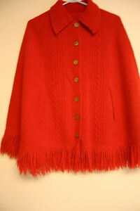 Beautiful Red cape $8.00 Excellent condition