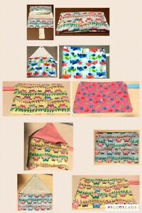 Vaccination book cover, Diaper Clutch, Teething bibs/accessories Cambridge Kitchener Area image 9