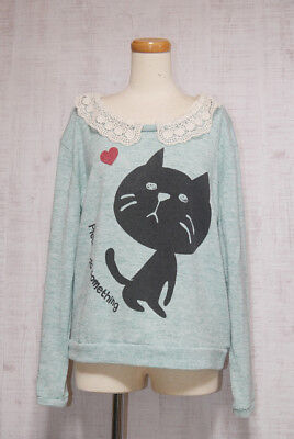 LISTEN HEARTBEAT Long Sleeve Knit tops Japanese Style Fashion Cute Sweet 10
