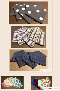 Vaccination book cover, Diaper Clutch, Teething bibs/accessories Cambridge Kitchener Area image 5