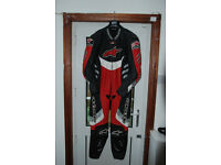 Alpinestars one-piece leathers EU56