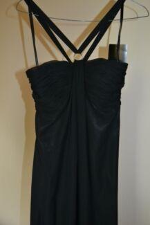 Formal Black Dress Size 10 Kurrajong Hawkesbury Area Preview