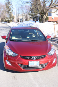 2012 Hyundai Elantra Limited under 40k KMs!!!