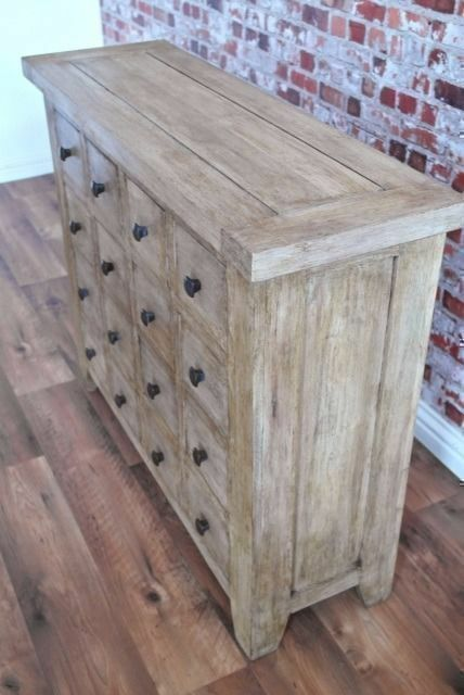 Apothecary Chest of Drawers - Rustic Farmhouse -
