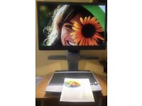 """Vision aid - OPTELEC Clearview+ Colour viewer video magnifier 22"""" Monitor"""