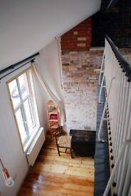 Loft style flat near London Fields