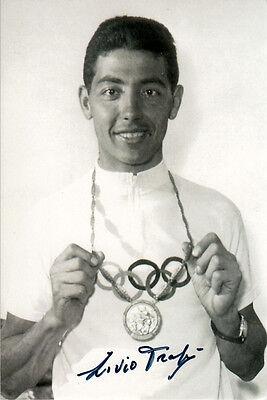 Livio Trape (ITA) Gold Radsport Team Olympia 1960 Rom original signiert/signed