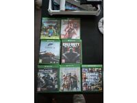 Xbox one s plus lots of games plus 2 controllers and chargers