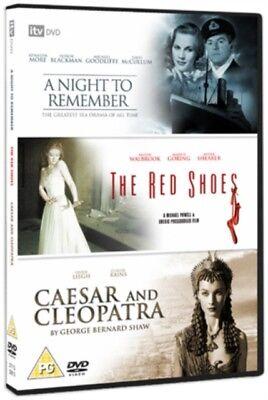 Neu A Night To Remember / Rote Schuhe / Caesar & Cleopatra DVD