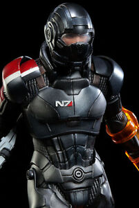 Sideshow Mass Effect Commander Shepard Exclusive + Tagged Print