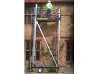 Trad Monkey Tower with built in trailer, the tower is used but in excellent working condition.