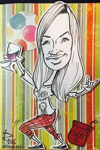 Fast AND Fun Caricatures Live! or from Photos! Kawartha Lakes Peterborough Area image 5
