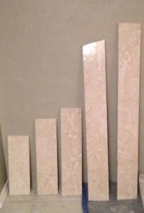 Selling a set of 5 Marble Slabs