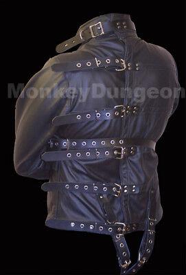 All leather Straight Jacket Medium houdini - Houdini Kostüm