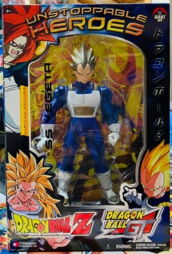 SS VEGETA Dragon Ball Z GT Unstoppable Heroes Limited Edition