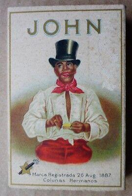 alte Zigarettenschachtel - Cigarros - John - Hojas de la Habana - TK246-0619