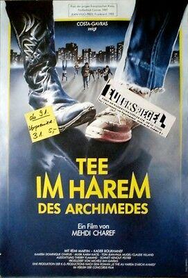 TEE IM HAREM DES ARCHIMEDES - 1985 - Filmplakat - Mehdi Charef - Poster