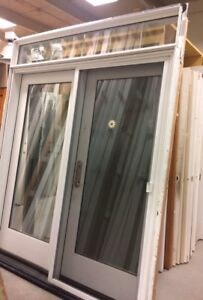 Garden Doors features Removable Transom