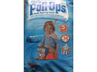 Hughes Pull-Ups Boys training pants, approx 27 boxes, New/Sealed