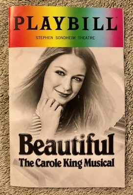 Beautiful Pride Playbill - *Melissa Benoist debut* *Brand New* *Free shipping*